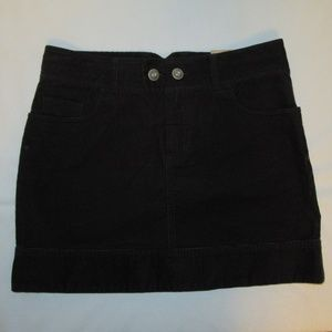 Eastern Mountain Sports Corduroy Skirt Size 6 NWT